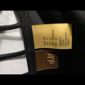 H&M Dresses - H&M black form fitting dress